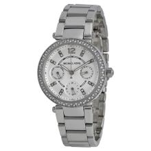 Michael Kors MK5615 Womens Silver Dial Analog Quartz Watch