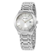 Bulova 96B165 Silver Mens Dial Stianless Steel  Watch