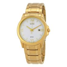 Citizen BM7262-57A Mens White Dial Analog Watch with Stainless Steel Strap