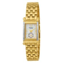 Caravelle by Bulova Women's 45R002 Diamond Accented Mother of Pearl Dial Watch