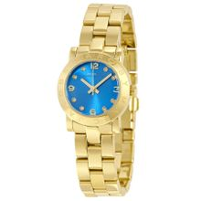 Marc By Marc Jacobs MBM3304 Womens Blue Dial Analog Quartz Watch