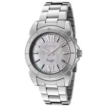 Invicta 0458 Womens Angel Silver Stainless-Steel Quartz Watch