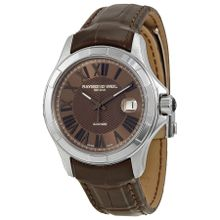 Raymond Weil 2970-STC-00718 Parsifal Mens Brown Dial Analog Automatic Watch
