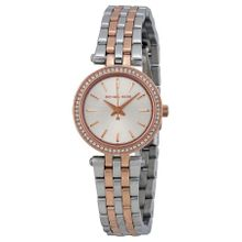 Michael Kors MK3298 Womens Silver Dial Analog Quartz Watch