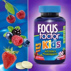 FOCUSfactor Kids, 150 Chewable Tablets